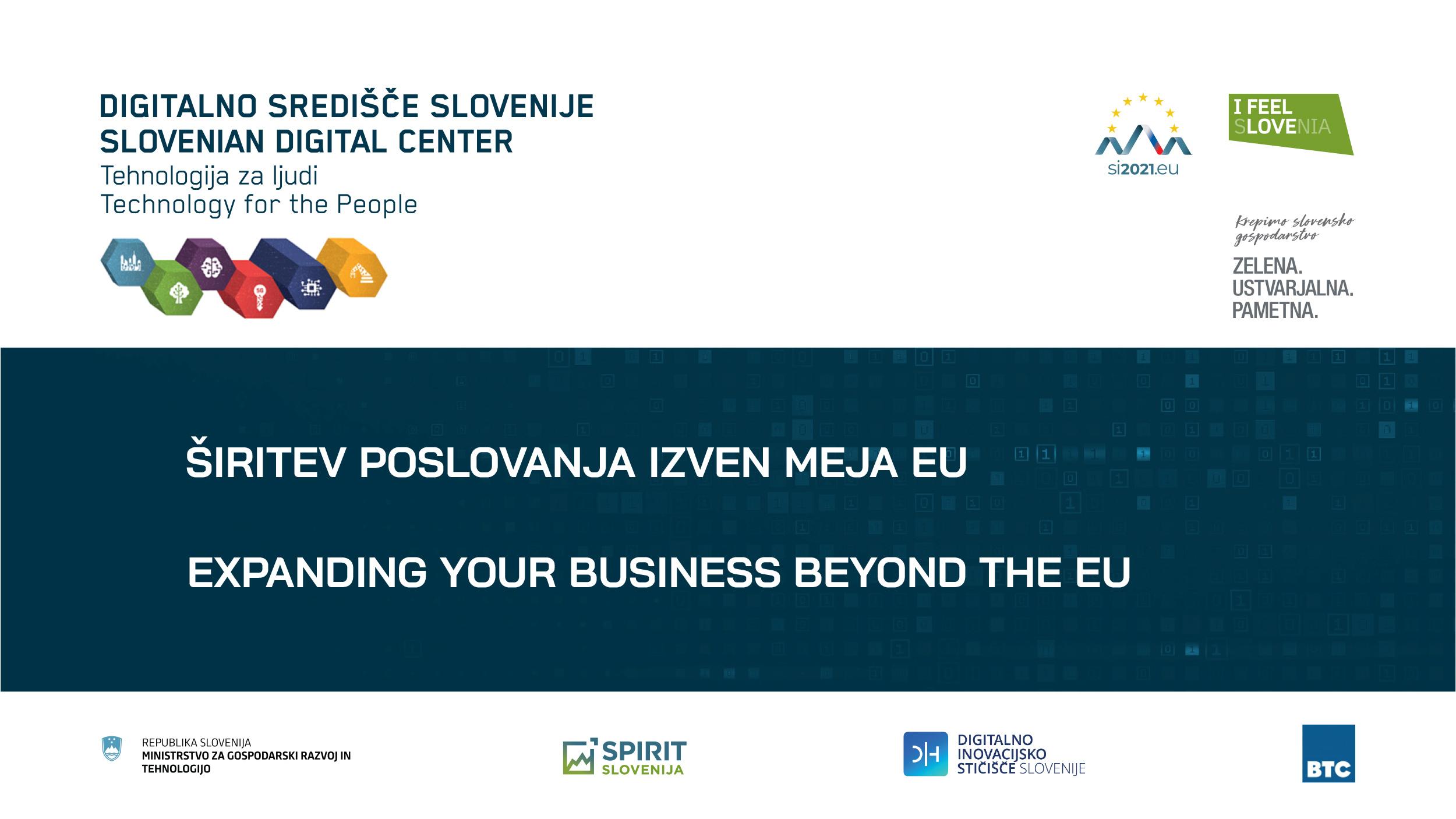 17 Spletna Stran Širitev Poslovanje Izven EU