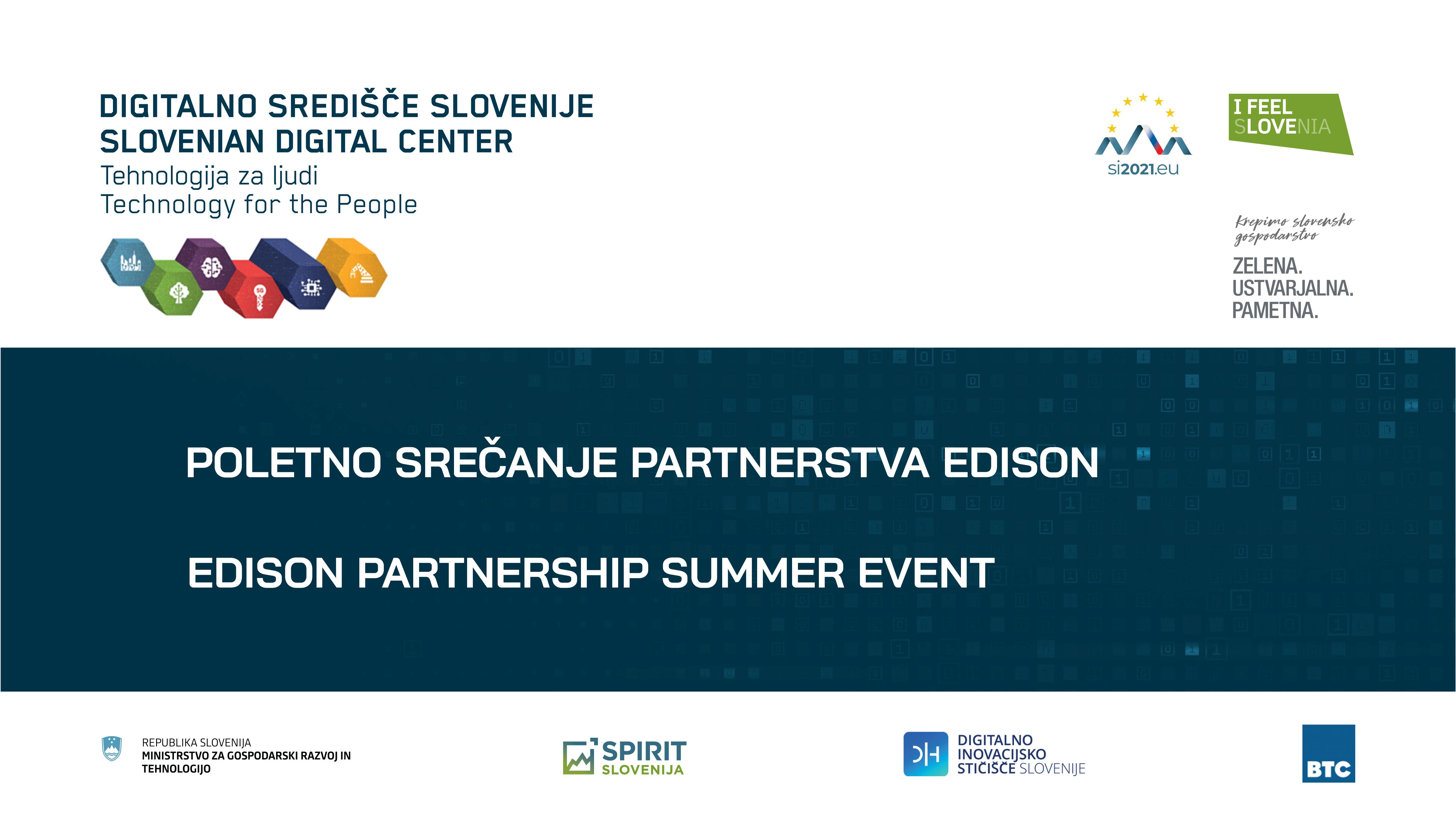 Banner poletno srecanje partnerstva Edison