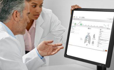 Siemens Healthineers predstavlja programsko opremo z uporabo umetne inteligence AI-Pathway za novo klinično področje/pot, ki omogoča podporo pri kliničnih odločitvah med zdravljenjem pljučnega raka