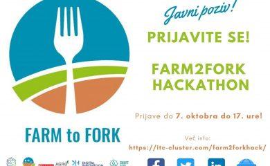 Odprt javni poziv OBJAVA farm2fork