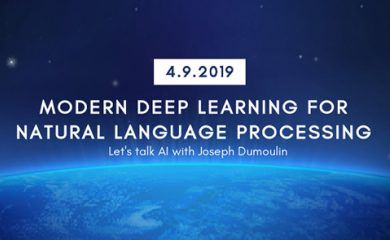 Let's talk with AI: Modern Deep Learning for Natural Language processing