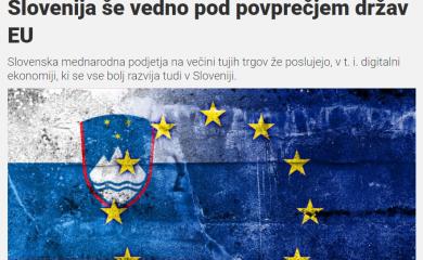 Svet kapitala: Slovenija še vedno pod povprečjem držav EU